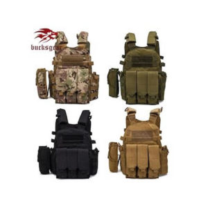 Tactical vest with plate option